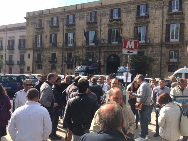 Ex Pip Protesta Palermo Foto Virga