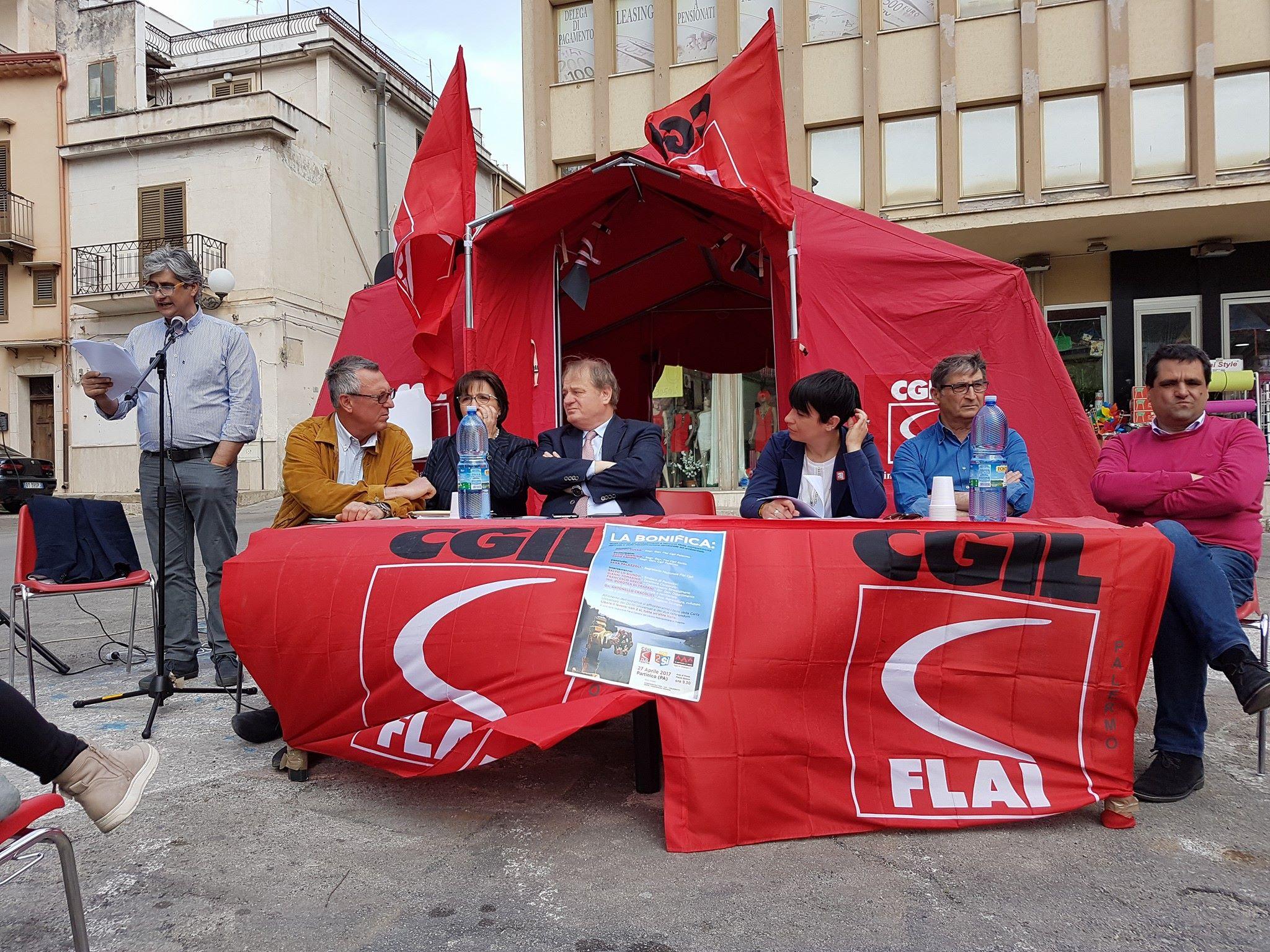 Tenda Rossa 2017, Interventi