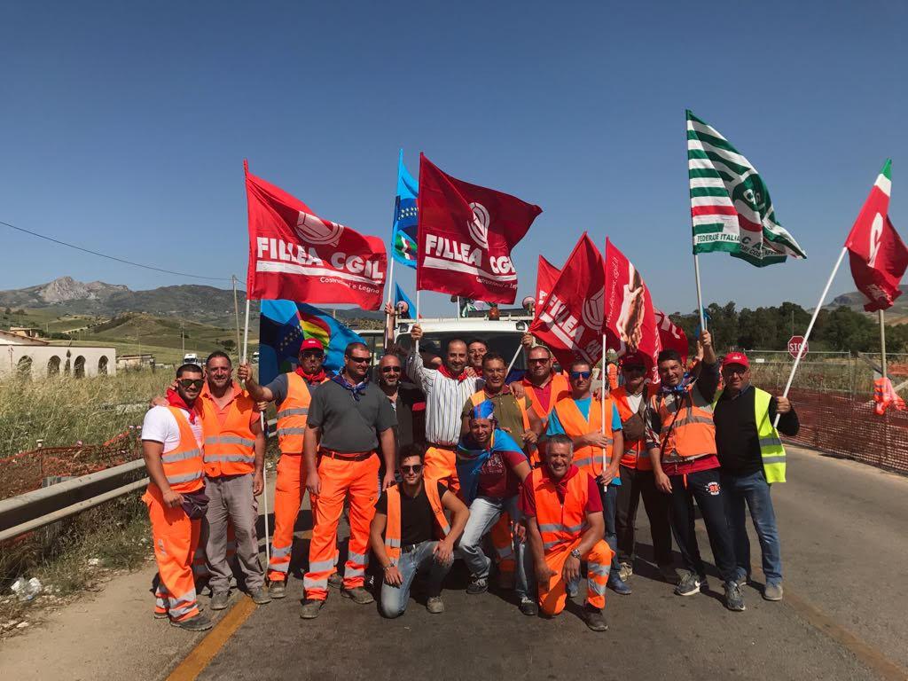 Foto Protesta Edili 19 Maggio